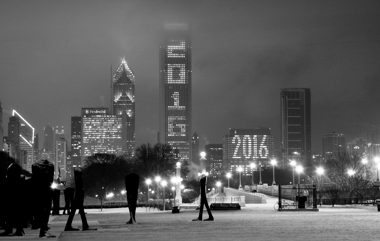 Grant Park, March.